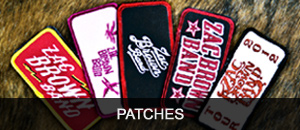 Zac Brown Band Patches